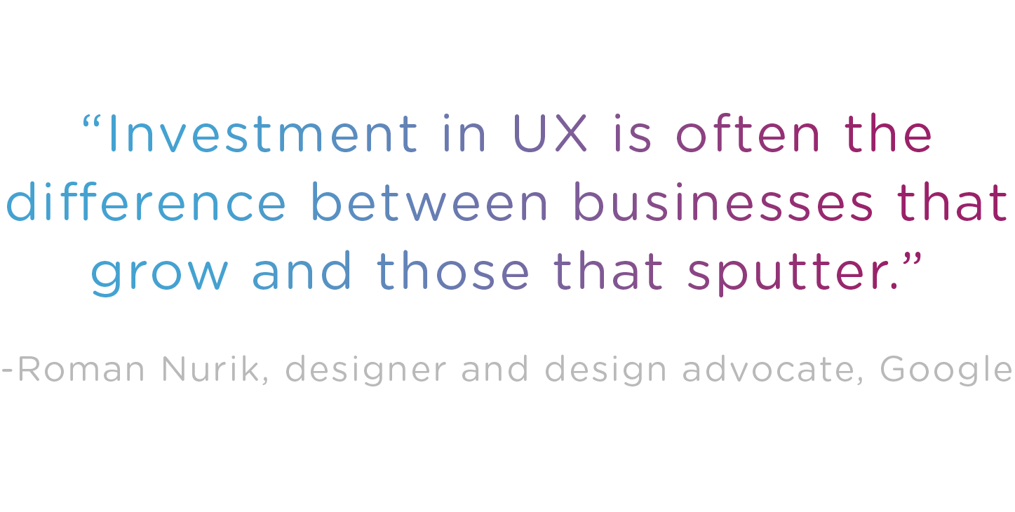 Can you afford to go without UX design?